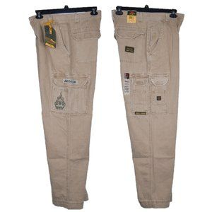 Rare JNCO Troopers Cargo Wide Leg Baggy Fit Pants